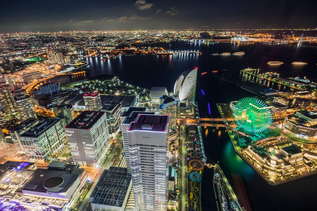 横滨五大夜景 绝佳观赏点