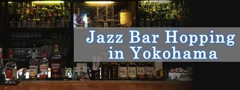 Jazz Bar saltando en Yokohama, la ciudad de jazz original de Japón