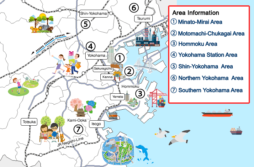 yokohama map