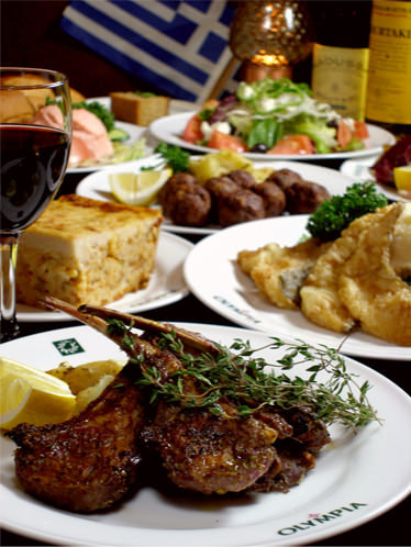 Greek style Restaurant & Bar OLYMPIA