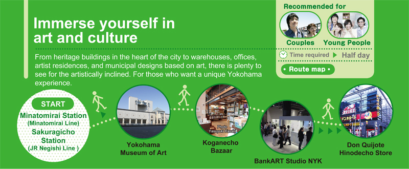 Immerse yourself in art and culture