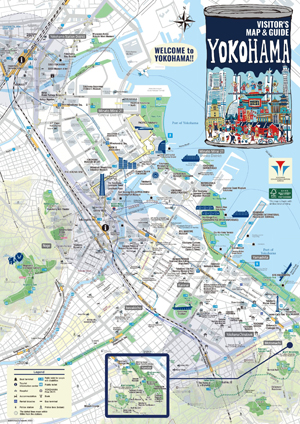 Yokohama Visitors Guide MAP
