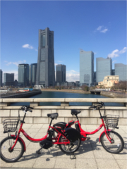 Yokohama Community Cycle baybike (Bicycle Sharing)