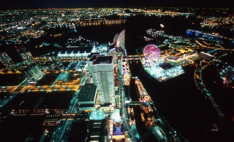 69th floor Sky Garden at Yokohama Landmark Tower