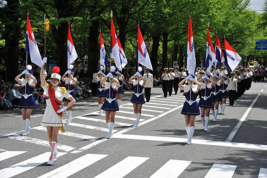 The 67th Yokohama Parade (International Costume Parade) 2019