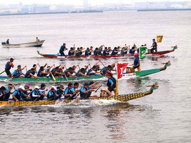Yokohama Dragon Boat Race 2018