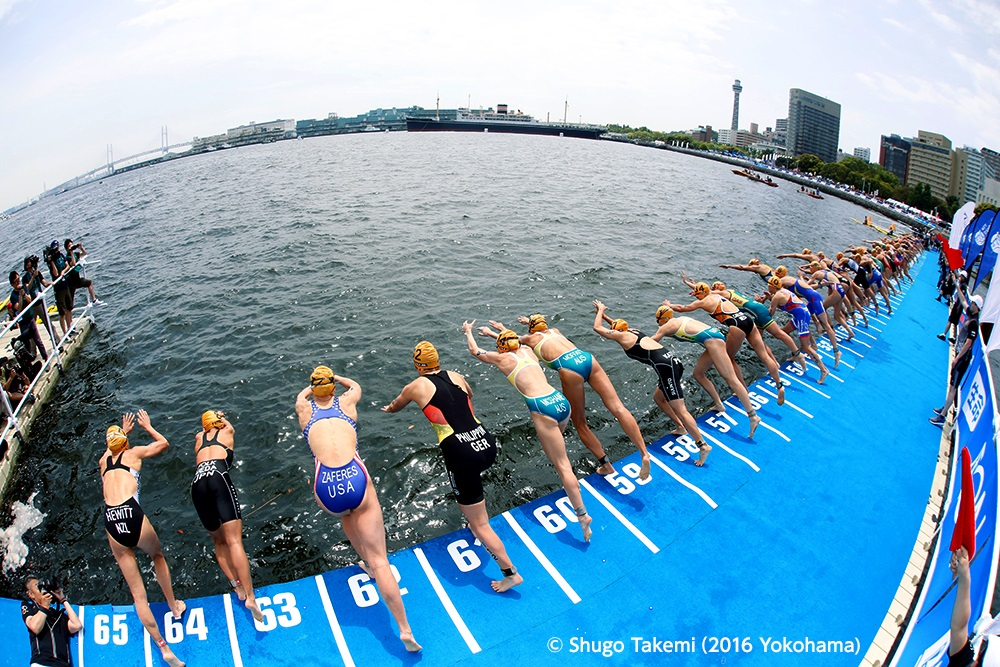 2019 ITU WORLD TRIATHLON YOKOHAMA