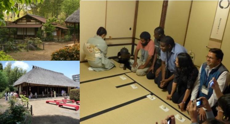 "Tsuzuki Minka-en ""Tea ceremony lessons for foreigners"""