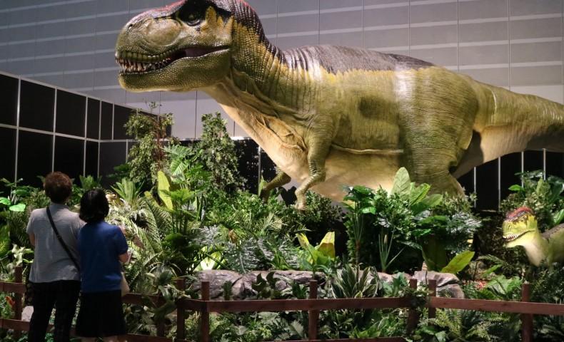 Yokohama Dinosaurs Exhibition 2017