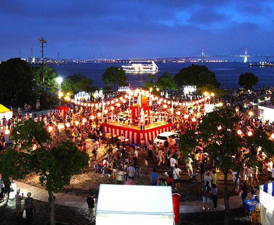 The 12th Minato Mirai Bon Odori Dance Festival 2019