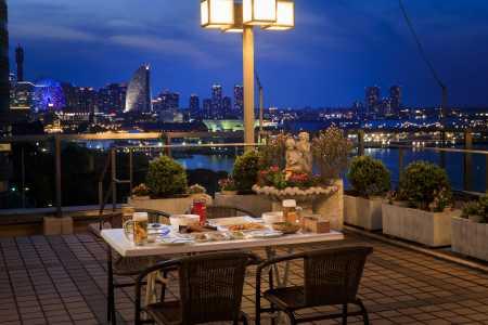 Star Hotel Yokohama - สวนเบียร์บนชั้นดาดฟ้า