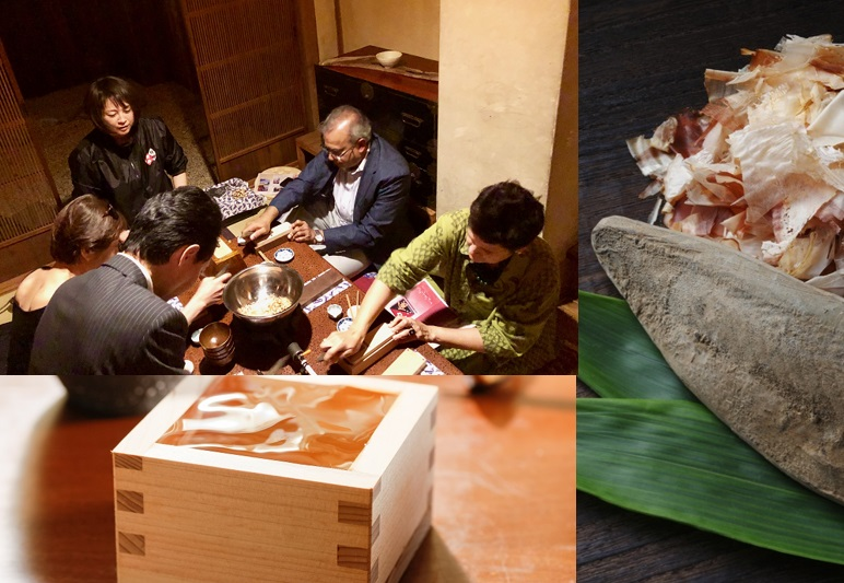 "Yoshidamachi Local Experience Tour No.1 ""Savor the Japanese dishes cooked by My Odashi"""