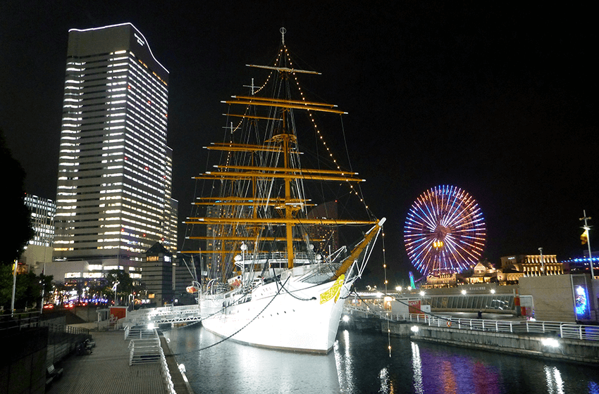 NIPPON MARU Christmas Illuminations