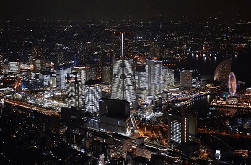 TOWERS Milight 2017 – Illumination of all the office buildings of Minato Mirai 21