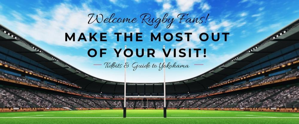Yokohama accueille les fans de rugby ~ Service de navette gratuit et événements amusants!