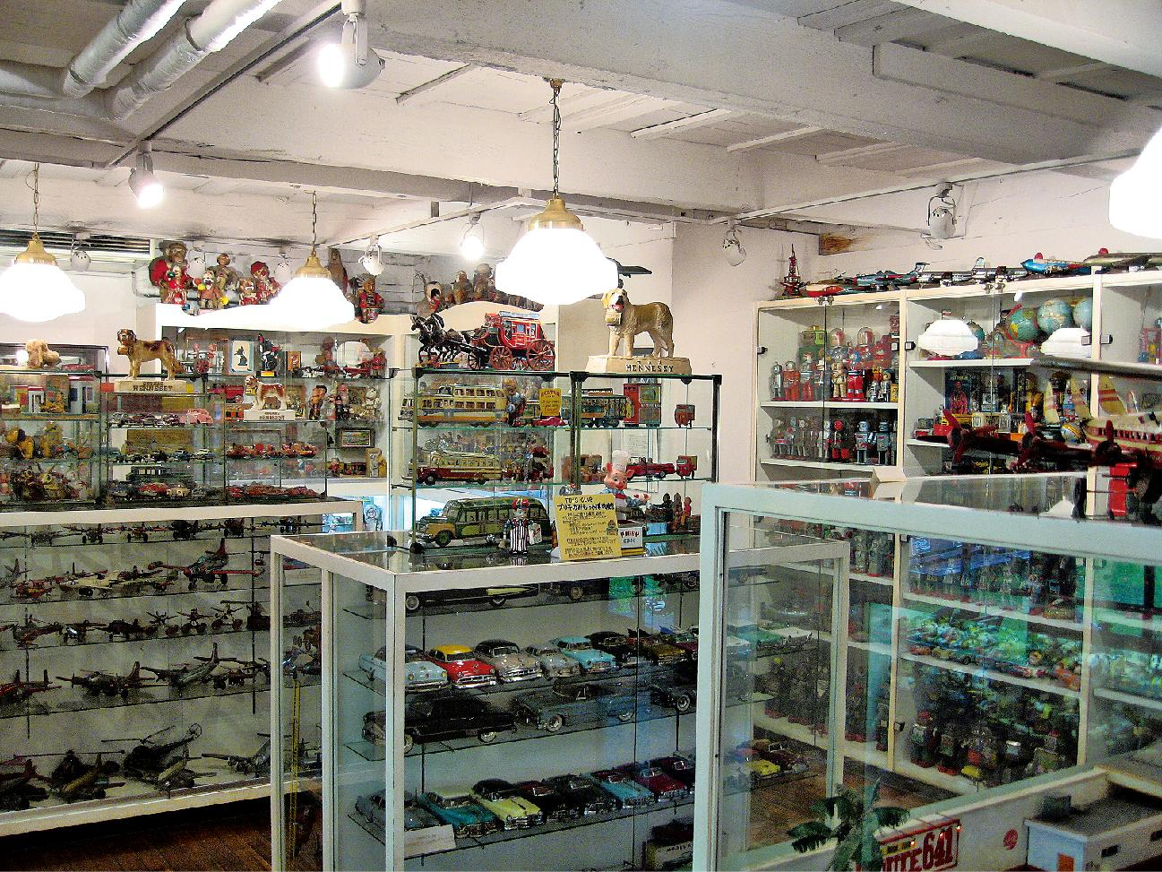 Tin Toy Museum in Yokohama