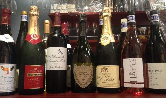 Champagne & Wine Stand QUATRE