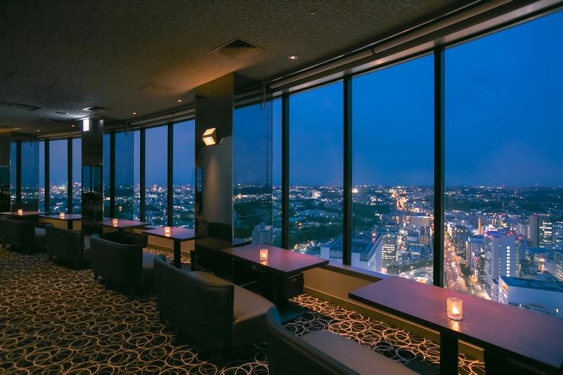 Shin Yokohama Prince Hotel Top of Yokohama Bar Lounge
