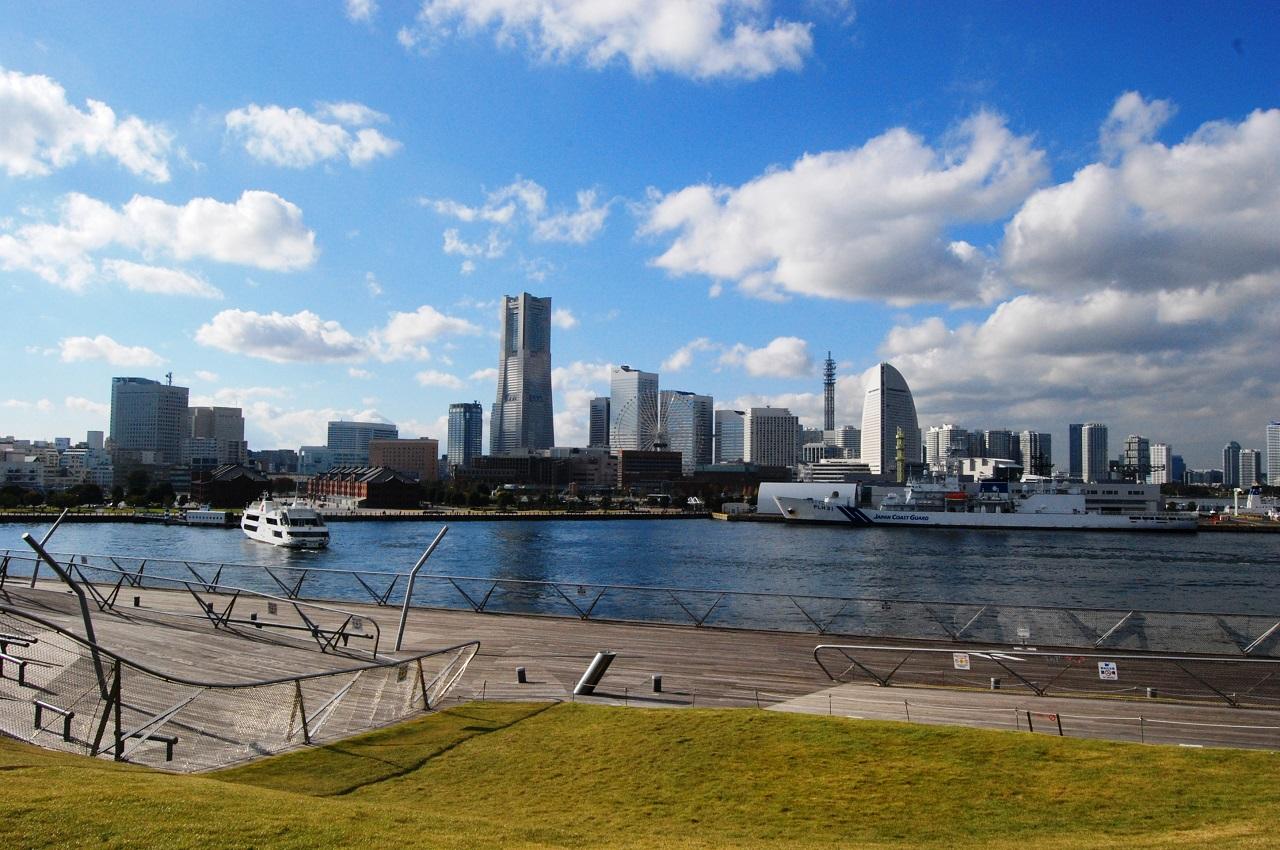 요코하마에서 무료로 즐길 수 있는 다섯가지